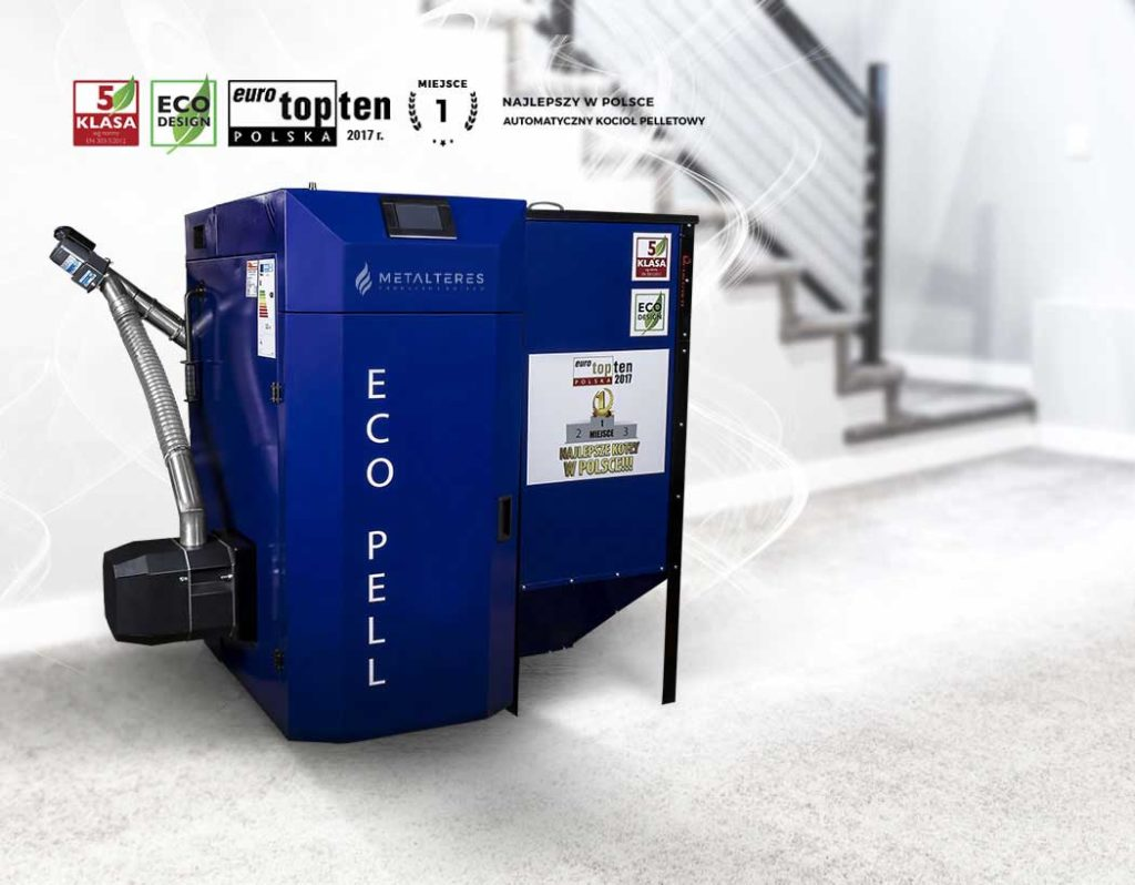 Kocioł z podajnikiem na pellet – wygoda i ekologia w jednym urządzeniu.
