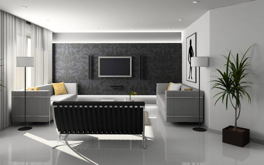 Jakie meble do salonu do jasnej podłogi?